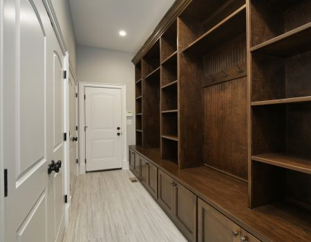 New Mudroom Built Ins
