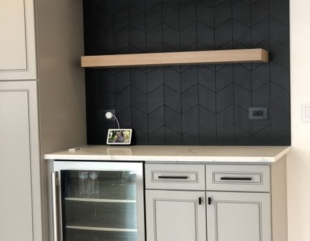 Newman Wetbar Backsplash