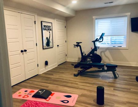 Oakley Exercise Room Basement